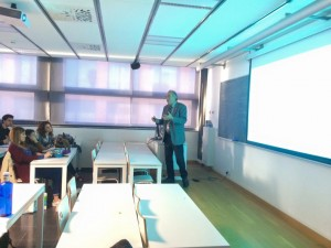 """Classe magistral Dr. Reynaldo Montes de Oca """"Investigació d'accidents marítims i el seu impacte ambiental"""""""